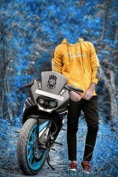 🔥Photography Bike Boy Photo Editing Background