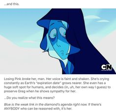 I want Steven to get some of the Rose Quartz gems or maybe even talk to blue diamond and convince her to help them