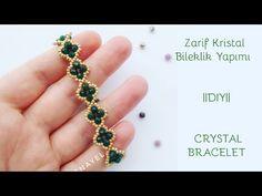 Cubic Raw Angler Weave ( CRAW) 4'lü Kristalli Markazit Yapımı Nazo Tekniği Dıy - YouTube