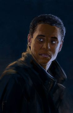 """ravennowithtea: """" Dorian from Almost Human """""""