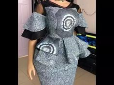 Jaw Dropping Unique Styles Creative Combination For… By Zahra Delong Diyanu - African Plus Size Clothing at D'IYANU Unique Ankara Styles, Beautiful Ankara Styles, Ankara Dress Styles, Kente Styles, African Print Dresses, African Dress, African Lace, African Prints, African Fashion Ankara