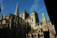 Cathedral, Treguier, Bretagne. France
