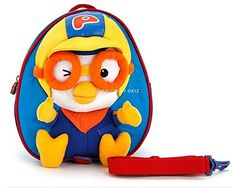Pororo Toy Character kids Backpack Bag  Special Edition PR089 -- Check out this great product.