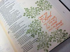 By Billie Jean Sanders on Journaling Bible Community ✭★✭