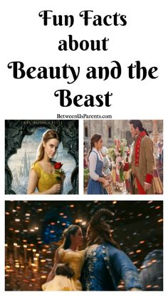 Fun Facts about Beauty and the Beast, including that more than 1,500 red roses and more than 8,000 candles were used for the movie.