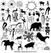 Image result for kokopelli cave drawings
