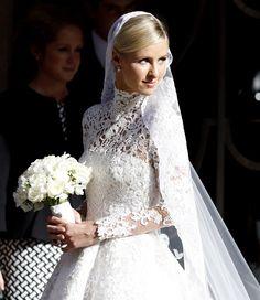 Nicky Hilton wedding pictures - marries James Rothschild wearing Valentino couture   Harper's Bazaar