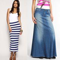 0e3ef1d383b Modelo de faldas juveniles largas  faldas  juveniles  largas  modelo   modelosdeFalda