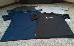 Lot of 4 Men's Medium DRI-FIT 100% Authentic HTF 3-NIKE 1-Jordan GREAT CONDITION #Nike #BaseLayers