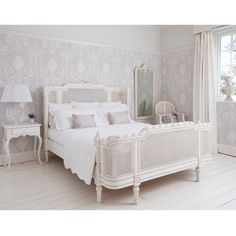 French beds - Provencal Lit Lit White - The French Bedroom Company - www.homeworlddesign.com