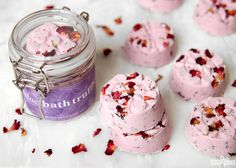 Bath truffles are essentially bath bombswith extraskin-loving oils and butters. They add more hydrating properties to the tub than typical bath bombs while still producing fizz. These Heavenly Lilac Bath Truffles are made with cocoa butter and shea butter to moisturize skin. Lilacs are currently in bloom here in the Pacific Northwest, and the Lilac …