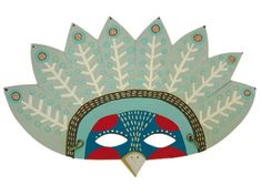 Exotic Bird Mask