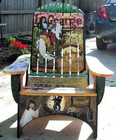 Adirondack Chair--(by Poleet Stout)