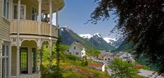 Most parts of Norway offer diverse accommodation, ranging from historic fjord hotels and urban boutique hotels to camping, glamping, and mountain cabins. Holidays In Norway, Cruise Packages, Alesund, Greece Holiday, Visit Norway, Cruise Travel, Tour Operator, Glamping