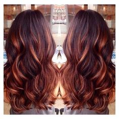 Dark brown hair with caramel highlights and red lowlights by dark brown hair with caramel highlights and red lowlights liked on polyvore featuring accessories and pmusecretfo Images