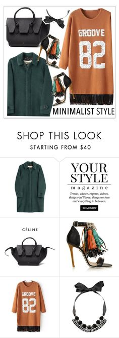 """Chic Minimalist Style"" by teoecar ❤ liked on Polyvore featuring Burberry, Pussycat, MSGM, Marni and Minimaliststyle"