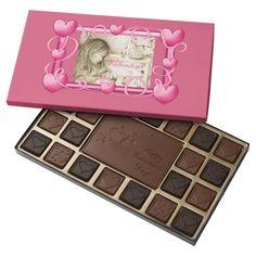 Vintage Carousel Dreams Hearts Frame Box of Candy by #MoonDreamsMusic #ValentineCandy #ValentinesDay #VintageCarouselDreams #MotherAndBaby