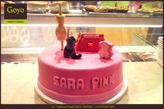 Una #tarta muy #fashion. ----- A fashion #cake.  | Goyo #PuertoBanus (2015)