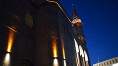 Moza Nasser Al-Hashan Mosque, Kuwait #architecture #mosque #lighting #LED