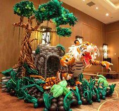 esculturas hechas con globos - Google Search