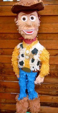 Pinata, Pinyáta, Pinata bulira, Égből hulló meglepetés: Woody ( Toy Story ) pinata