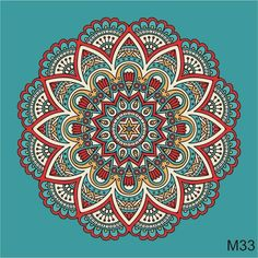 mandalas azulejos autoadhesiv. vinilos deco 15x15 cm x12u