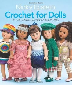 Paid and Free Crochet Patterns for 18-inch Dolls Like the American Girl Doll https://babytoboomer.com/2017/02/15/free-crochet-patterns-18-inch-doll/