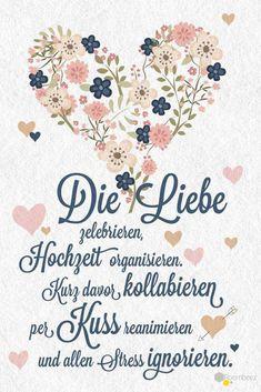 #Hochzeit #Glückwünsche #Spruch #Grußkarte # Sprüche Diesen und weitere süße Glückwünsche zum Ausdrucken oder Abschreiben findet Ihr auf ROOMBEEZ ♥