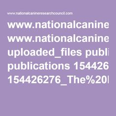 The Relevance of Breed When Selecting a Companion Dog pdf