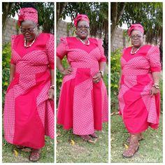 Nice Shweshwe Dresses for Women 2018 / 2019 Shweshwe Dresses, African Dress, 2d, Wrap Dress, Nice, Vintage, Women, Style, Fashion
