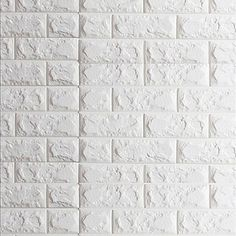 3D Tijolo Papel de Parede Para Casa Contemporâneo Revestimento de paredes , Vinil Material Auto-adesivo papel de parede , quarto de 5513835 2017 por €72.51