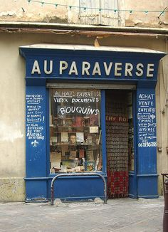 Béziers Storefront by chez loulou, via Flickr