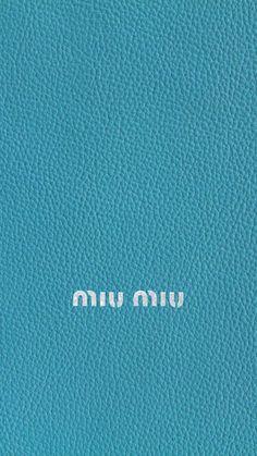 ミウミウ/キラキラロゴティールレザー iPhone壁紙 Wallpaper Backgrounds iPhone6/6S and Plus MIUMIU