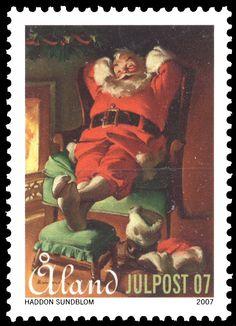 "Åland Christmas Post ""Haddon Sundblom (1899–1976)"" 2007 [Facit: 288, Mi: 288, Y&T: 288]"