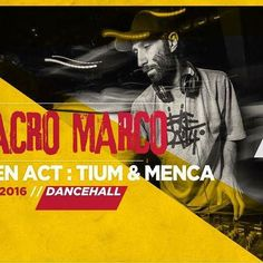 BABABOOM FESTIVAL 2016 • Wednesday, July 13, 2016 • Dancehall Area • Macro Marco • open act : Tium & Menca #bababoomfestival #bababoom2016 #dancehall #reggaemusic #live #djing #dafarenellemarche #marchetourism #positivevibes #instareggae #exploringmarche #igersfermo #igersmarche #igersitalia #goodvibes #dancehallmusic #peacethroughmusic @menca_music www.bababoomfestival.it