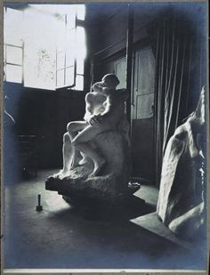 Le Baiser, 1890 Auguste Rodin photographie: Eugène Druet