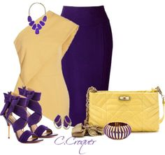"""Chic in Purple"" by ccroquer"