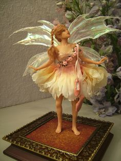 OOAK Dancing Flower Fairy by Patricia Rose