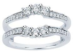 3 stone diamond ring enhancers   RING ENHANCER. This Diamond Ring Enhancer will help to illuminate your ...