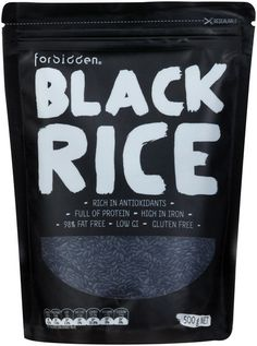 Forbidden Foods Black Rice - Australia Buy Online To Make Your Recipes. #blackrice #forbiddenfoods