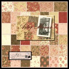 Aster Manor Charm Pack by 3 Sisters for Moda Fabrics