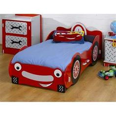 Toddler boys room! Cameron would love this