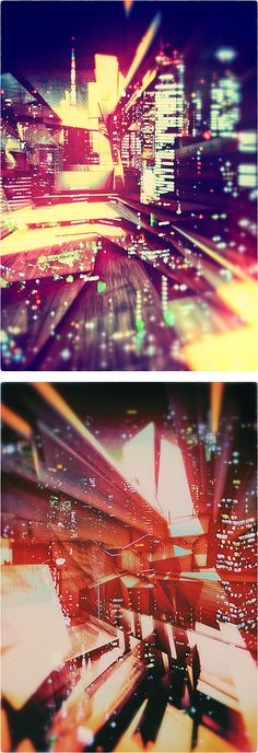 Abstract Illustrations by Atelier Olschinsky