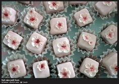 Wedding Fruitcake Petits Fours Inspired by Kate Middleton's royal wedding cake