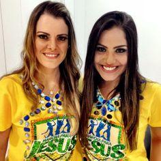 Gabriela e Ana Paula #MarchaParaJesus 2014