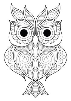 Mandala Owl Coloring Pages. 30 Mandala Owl Coloring Pages. Free Cute Owl Coloring Page Spring Coloring Pages, Pattern Coloring Pages, Printable Adult Coloring Pages, Mandala Coloring Pages, Coloring Pages To Print, Coloring Books, Adult Colouring Pages, Free Coloring, Kids Coloring