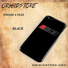 Marc Marquez Logo Moto GP Black White Snap On Or 3D For Iphone 6 Plus