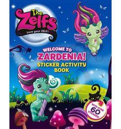 The Zelfs Sticker Book