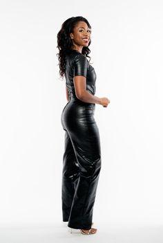 d69da27cddf Assata Designs – Kareena Jumpsuit  fallfashion  jumpsuits  curvy  sale  Leather Jumpsuit