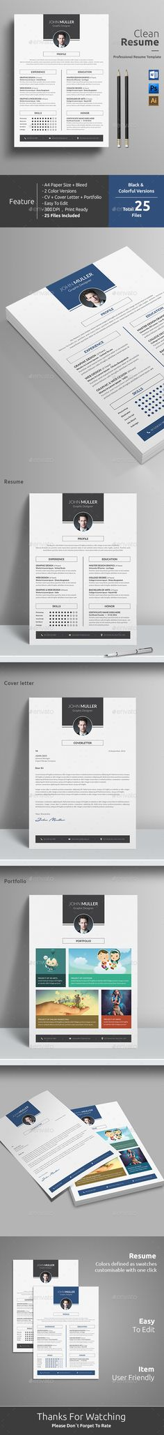 Resume Word Resume words, Cv template and Modern resume - ms word resume templates download
